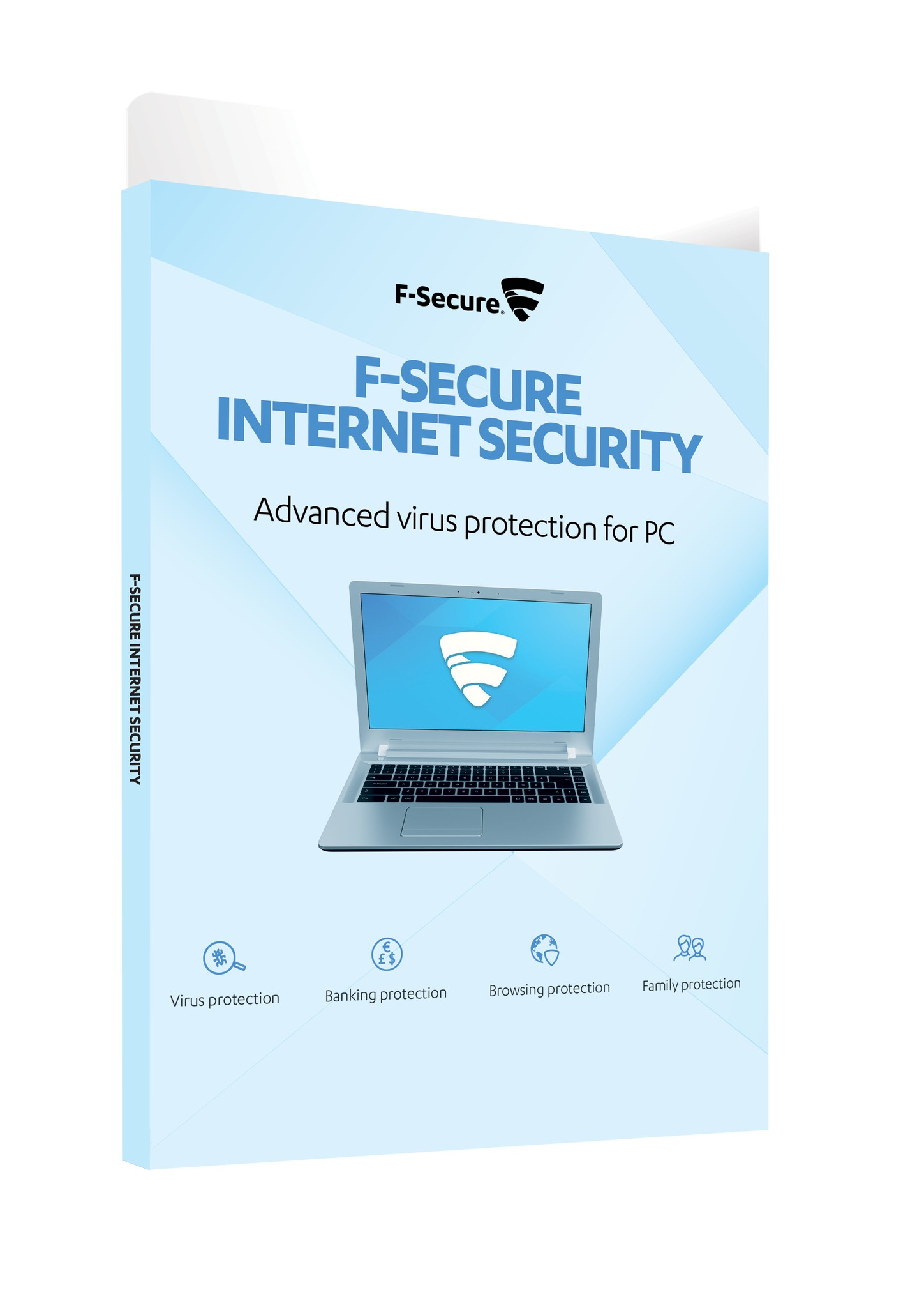 F-Secure Internet Security 3-licens