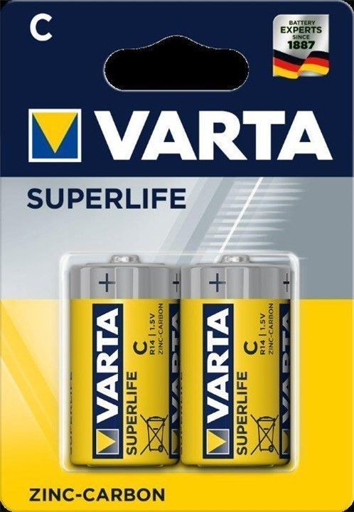 Varta Superlife C-batterier