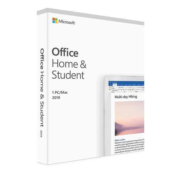 Microsoft Office 2019 Home & Student (PC/Mac)