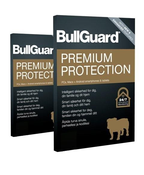 Bullguard Premium Protection 2020 5 enheter i 1 år