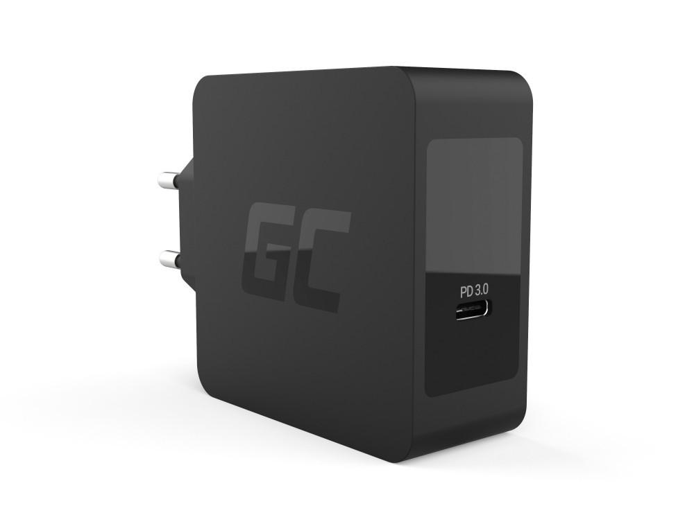 GreenCell USB-C laddare 60W för laptops